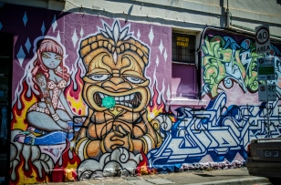 Brunswick Street Art-3055