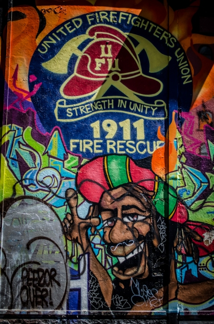 Brunswick Street Art-3102