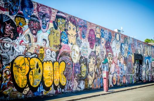 Brunswick Street Art-3107